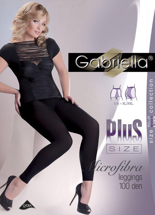 Gabriella Plus Size Leggings 100 DEN