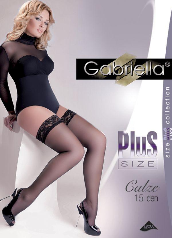 Gabriella Plus Size Calze 15 DEN