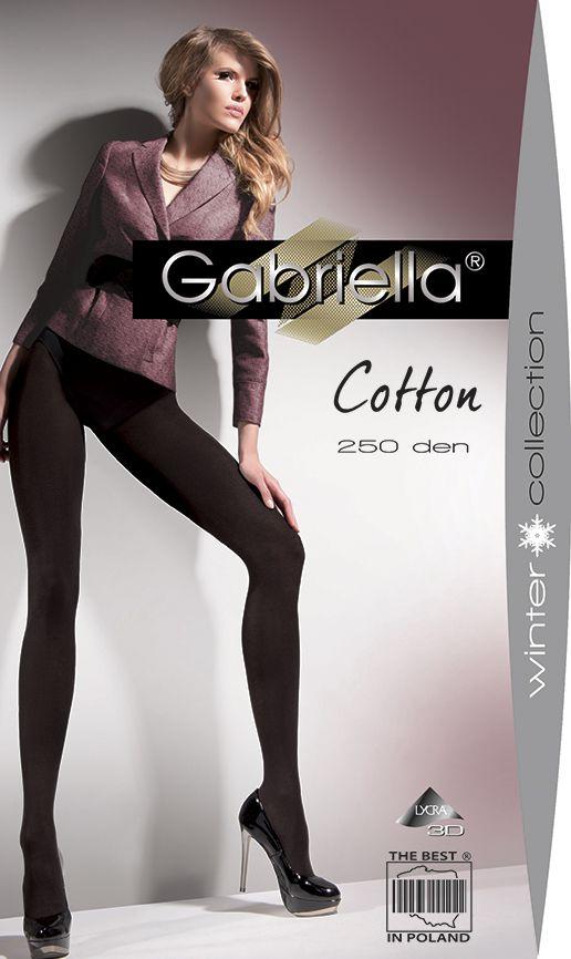 Gabriella Strumpfhose Cotton 250 DEN