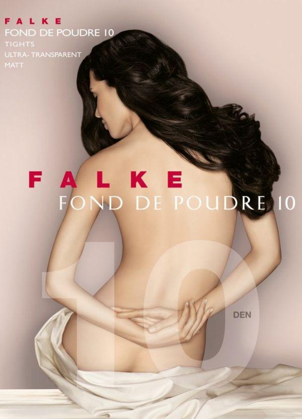 Falke Fond De Poudre 10 DEN