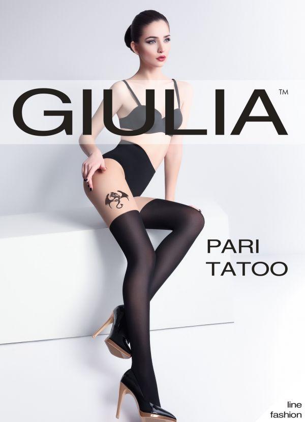 Giulia Pari Tattoo 60 DEN