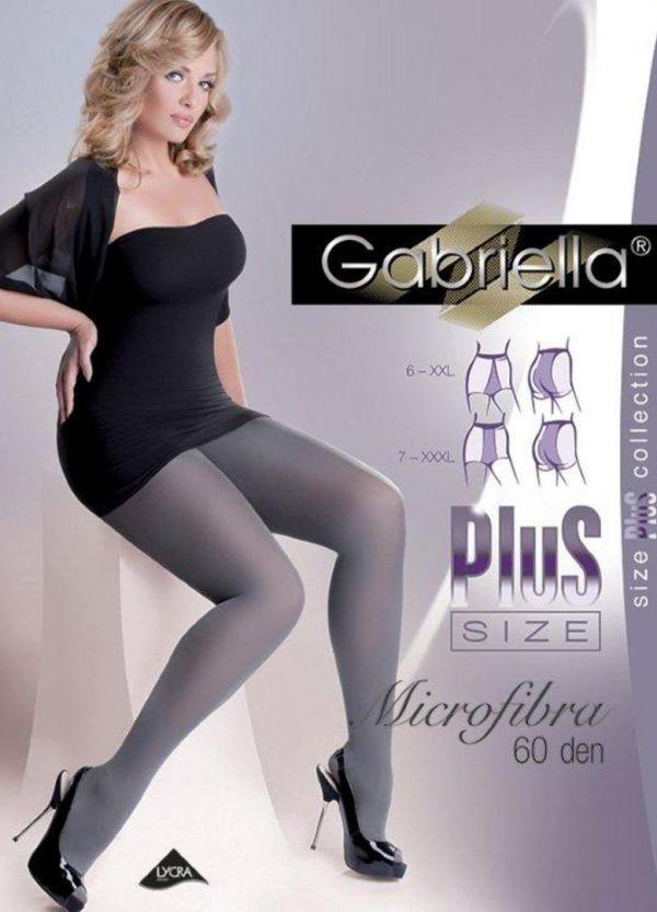 Gabriella Plus Size Microfibra 60 DEN