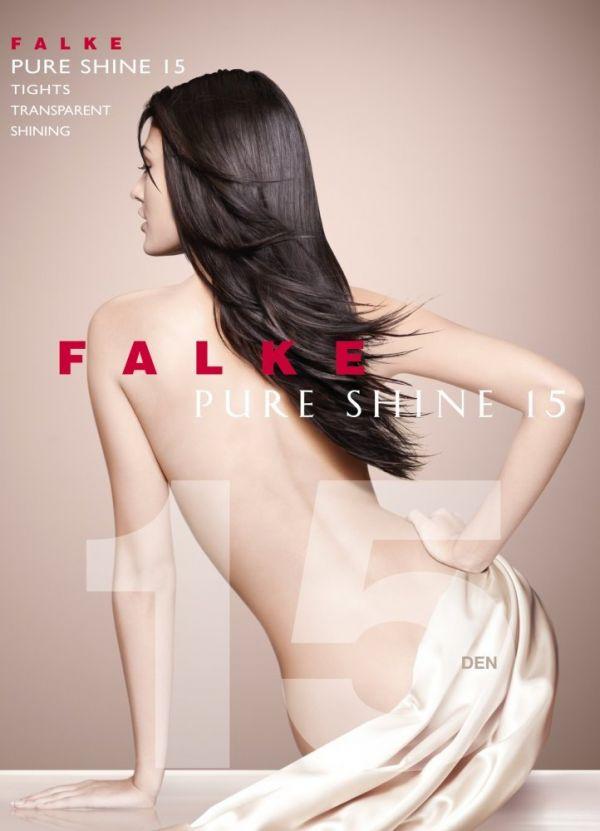 Falke Pure Shine 15 DEN